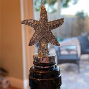 Other - Starfish wine stopper